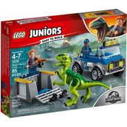 Lego Juniors Jurassic World 10757 Camión De Rescate Raptor