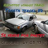 Repuestos Usados Toyota Tercel