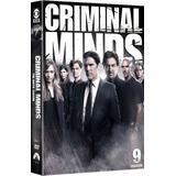 Dvd Criminal Minds - 9ª Temporada - 5 Discos