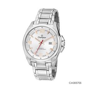 27a7c46a75c Relogio Champion Ca30570 Prata Masculino Pulso - Relógios no Mercado ...
