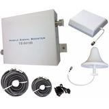 Kit Repetidor Amplificador De Sinal 3g Celular Rural