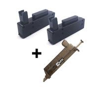 Magazine M24 Storm Kit Com 2 Mags Kpp E 1 Speedloader Ntk