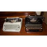 Maquinas De Escribir Antiguas Mecanicas-funcionales