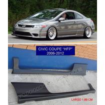 Estribos Deportivos Civic Coupe Si 2006 2007 2008 2009 2012