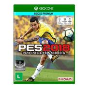 Jogo Mídia Física Pro Evolution Soccerpes 2018 Xbox One