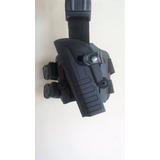Coldre Robocop Pra Pistola De Mira Laser Esquerdo Com Brinde