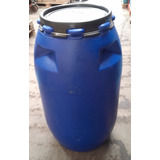 Tambor Tanque Plastico Tapa Ancha X 200 Litros