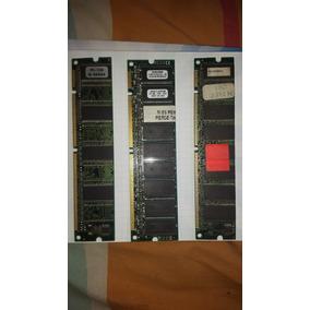 Lote Memoria Ram Dimm Pc100 Para Pc Pentium I, Ii, Iii