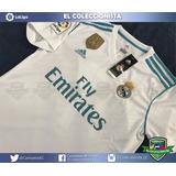 Nueva Camiseta Real Madrid Liga 17-18 Ronaldo Sergio Ramos