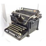 Antigua Máquina De Escribir Remington Colección Vintage