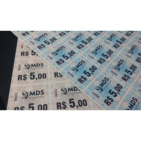 Fichas De Bar Consumação Festa Tickets Festa Kit 1000 Und