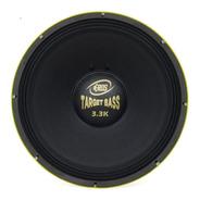 Alto Falante Eros Target Bass 3.3k 1650w Rms 18'' 8 Ohms