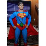 Hot Toys Superman Christopher Reeve Green Kryptonite