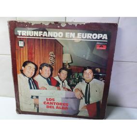 Los Cantores Del Alba Triunfando En Europa Disco Doble 1971