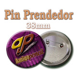 Pin Prendedor De 38mm (personalizado)