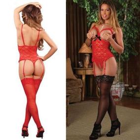 Rojo - 2xl - Mujeres Ropa Interior Sexy Mini Ve-591138857183