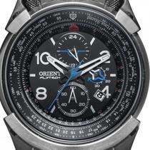Relógio Orient Flytech Titanium Mbttc008 100% Original+caixa