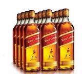 Whisky Red Label 1 Litro Caixa Com 12 Unidades