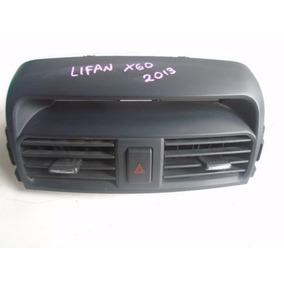 Difusor Moldura Central Lifan X60 2013 C/botao Pisca Alerta