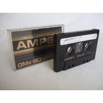 Audio Cassette Ampex Grand Master Ii 90 Minutos Tipo Ii 1982