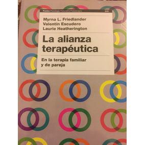 La Alianza Terapéutica, En La Terapia Familiar Y De Pareja.