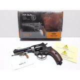 Replica Revolver Gletcher Nagant 4.5mm Balines Acero Co2
