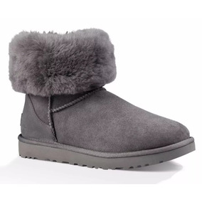 Botas Mujer Ugg Modelo Classic Short Il Heritage Gris