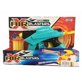 Pistola De Juguete Crossfire Gun Con Balas De Goma Espuma.