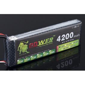 Bateria Lipo Zop 7.4v 4200mah 35c 2s Automodelo Aeromodelo