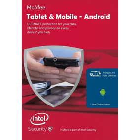 Antivirus Mcafee Mobile Security 2018. Telefono_tablet 1 Año