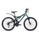 Bicicleta Mercurio Kaizer Dh Rodada 24 Doble Suspensión 2018