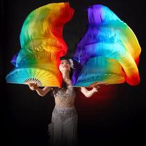 Abanicos Árabes Fan Veil Arco Iris