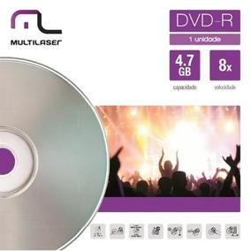 Midia De Dvd-r Velocidade 08x Unitário Envelope