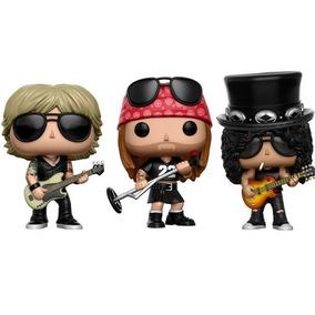 Funko Pop! Slash #51 - Axl #50 - Duff #52 - Gun