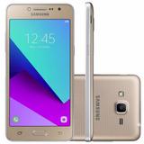 Celular Samsung J2 Prime 16gb Flash Frontal Dourado