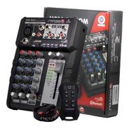 Mesa Stetsom Stm1003 3 Canais Bluetooth Sd Fm Bt Usb + Sx2