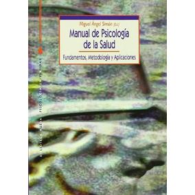 Libro Manual De Psicologia De La Salud (edicion En Español)