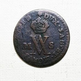 Ch C / E. Italianos - Cerdeña 1/2 Soldo 1782 Km#81 Sardinia