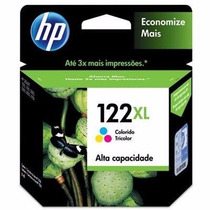 Cartucho De Tinta Hp 122xl Color Original
