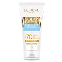 Solar Expertise Facial Toque Limpo Cor Fps 70 Loréal Paris