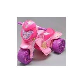 Moto Elétrica Bandeirante Barbie Rosa P Meninas