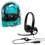 Diadema Con Microfono Clearchat Comfort Logitech H390 Negra