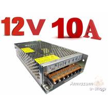 Fonte Transformador De 110 Ou 220 Para 12v Com 10 Amperes