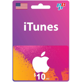 Tarjeta Itunes Gift Card 10 Usd Usa Digital - Prepagochile