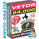Kit Vetor 84.000 Desenhos Vetorizados Corel Draw ## Download
