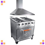 Combo Cocina Eg 80 Cm + Campana Piramidal C/ Motor