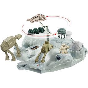 Hot Wheels Star Wars Batalhas No Espaco Hoth Echo Base Battl