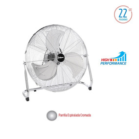 Turboventilador Liliana 22 3v 130w Metal 4749