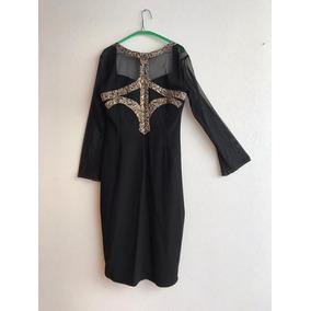 Vestido Maria Isabel Negro Coctel Ideal Para Fiestas