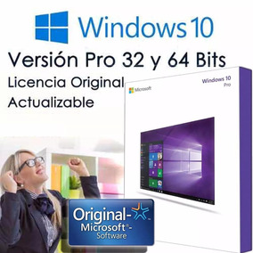 Windows 10 Pro Licencia Original Sp1 Pc1